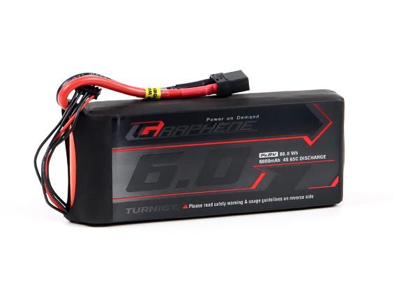 Turnigy Grafeen 6000mAh 4S 65C Pack Lipo w / XT90