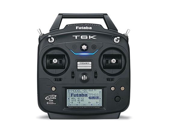Futaba 6K 6-kanaals 2,4 GHz Computer Radio System (Mode 2)