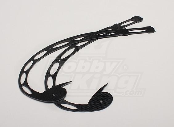 Hobbyking Y650 Scorpion Tail Fin (2 stuks / zak)