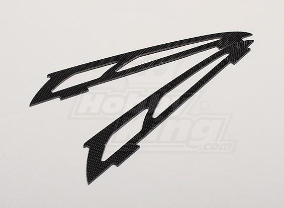 Hobbyking Y650 Scorpion Glass Fiber Lower Jaw (2 stuks / zak)