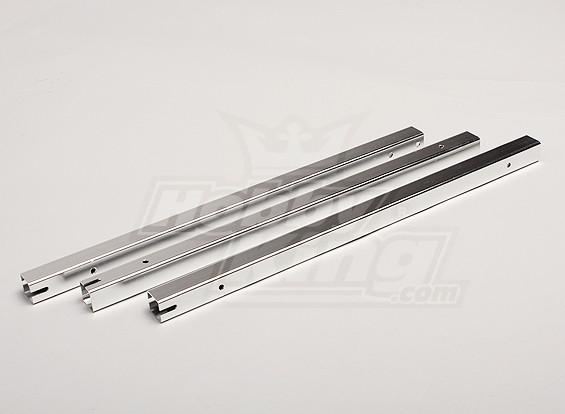 Hobbyking Y650 Scorpion Aluminium Vierkant Boom Set (3pcs / bag)