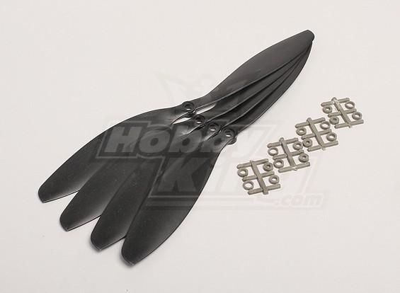 GWS Style Slowfly Propeller 11x4.7 Black (CW) (4 stuks)