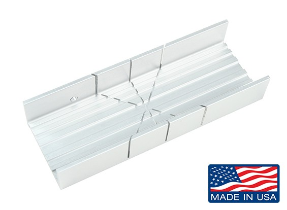 Zona Wide Slot Aluminum Miter Box