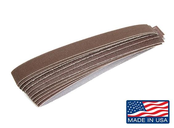 "Zona 1/2 ""Wide Sanding Stick Diverse Schuren Strip Pack"