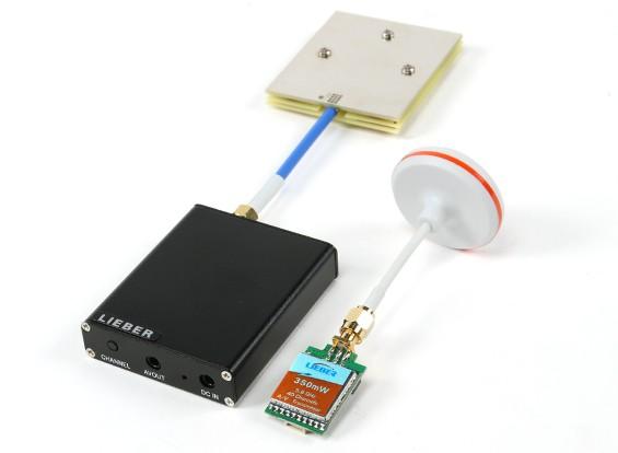Lieber 5.8G FPV Audio / Video RX en 350mW TX Package
