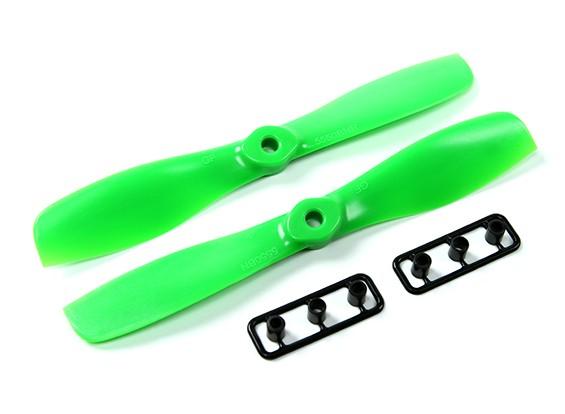 Gemfan 5550-Bullnose één paren (CW & CCW) Groen