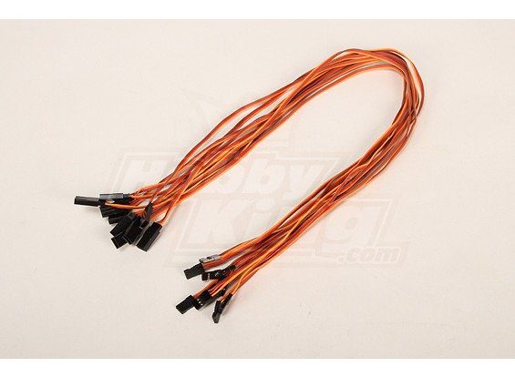 60CM Servo Lead Extention (JR) 26AWG (10st / bag)