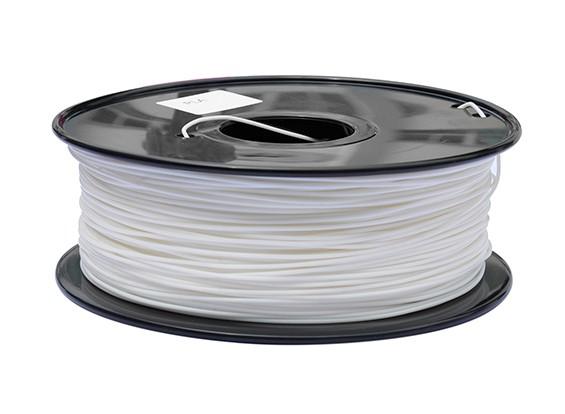 HobbyKing 3D-printer Filament 1.75mm PLA 1KG Spool (wit)