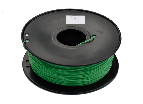 HobbyKing 3D-printer Filament 1.75mm PLA 1KG Spool (donkergroen)