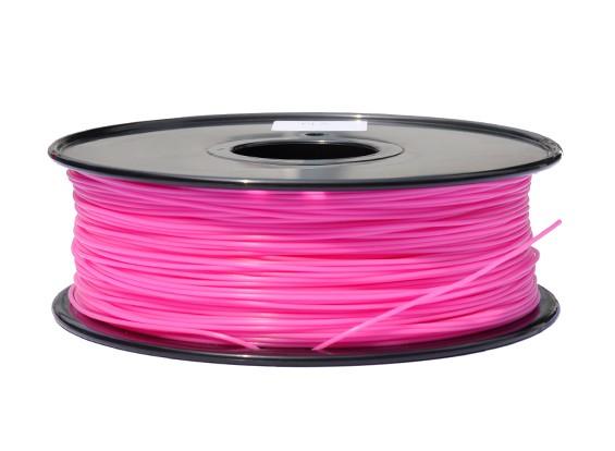 HobbyKing 3D-printer Filament 1.75mm PLA 1KG Spool (Hot Pink)