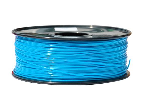 HobbyKing 3D-printer Filament 1.75mm PLA 1KG Spool (Aqua)