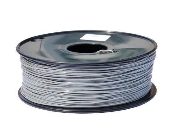 HobbyKing 3D-printer Filament 1.75mm PLA 1KG Spool (grijs)