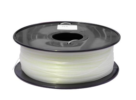 HobbyKing 3D-printer Filament 1.75mm PLA 1KG Spool (Glow in the Dark - Green)