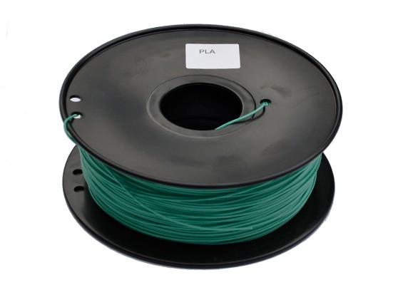HobbyKing 3D-printer Filament 1.75mm PLA 1kg Spool (Color Changing - groen naar geel)