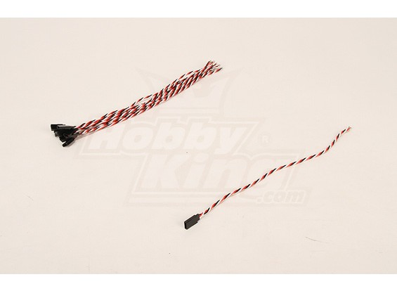 30cm Vrouw 22AWG Twisted (10st / bag)