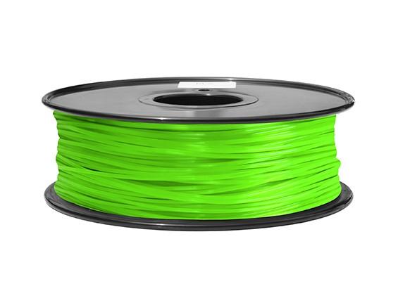 HobbyKing 3D-printer Filament 1.75mm ABS 1KG Spool (Groen)