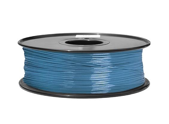 HobbyKing 3D-printer Filament 1.75mm ABS 1KG Spool (Blue P.632C)