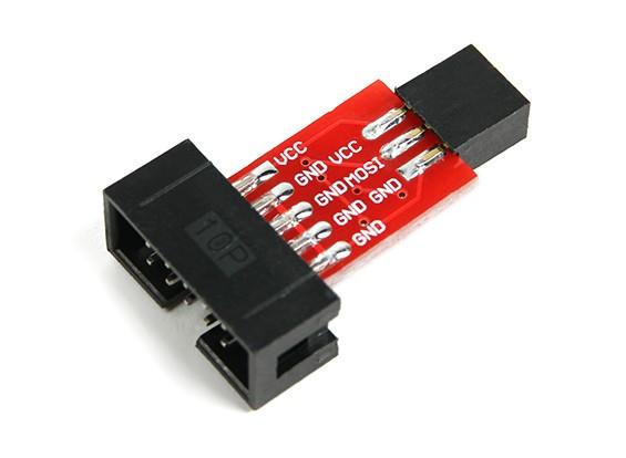 ATMEL ISP10 naar ISP6 Adapter