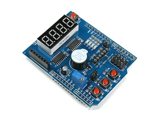 Multifunctionele Developer Shield voor Arduino Uno / Leonardo