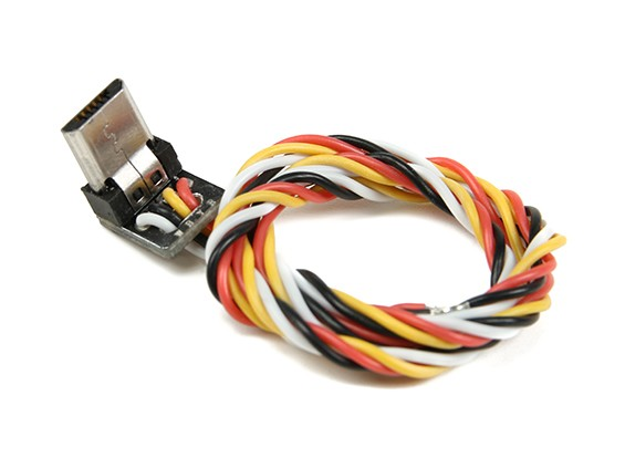FPV Live Video A / V-kabel voor Turnigy Actie Cams