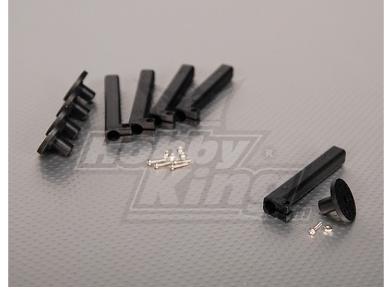 Elektrische Motor Standoff Mounts 10mm Small base (5pcs / bag)