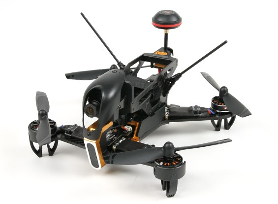 Walkera F210 FPV F3 FPV Racing Quad RTF w / camera / VTX / Devo 7 / OSD / geen batterij of een oplader (Mode 2)