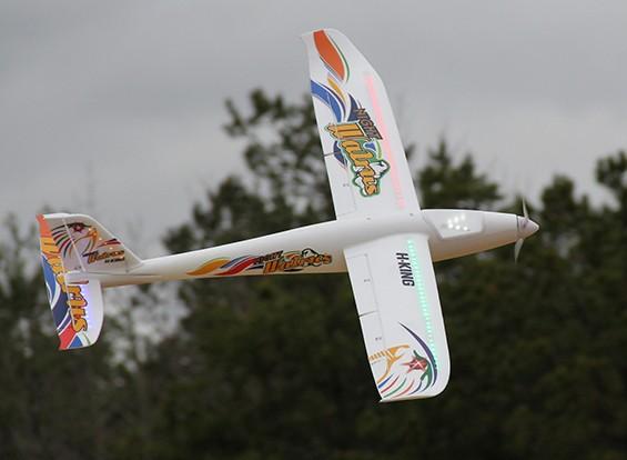 HobbyKing® Night Walrus Glider w / Kleppen EPO 1400mm (PNF)