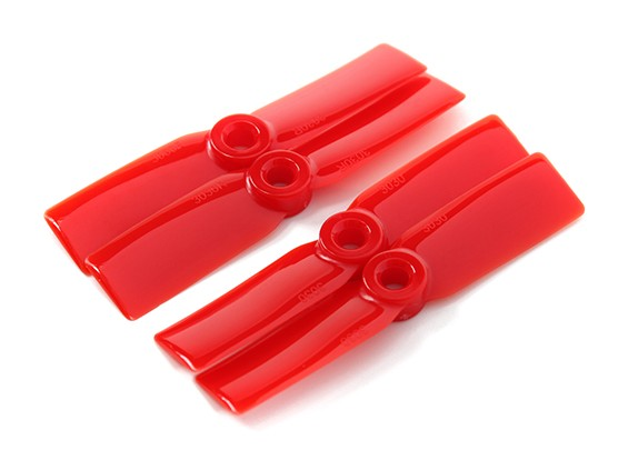 DYS T3030-R 3x3 CW / CCW (paar) - 2pairs / pack Rood