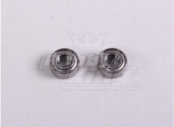 Ball Bearing 5 * 10 * 4mm (2Pc / Tas) - A2016T, A2030, A2031, A2031-S, A2032, A2033, A3002 en A3015