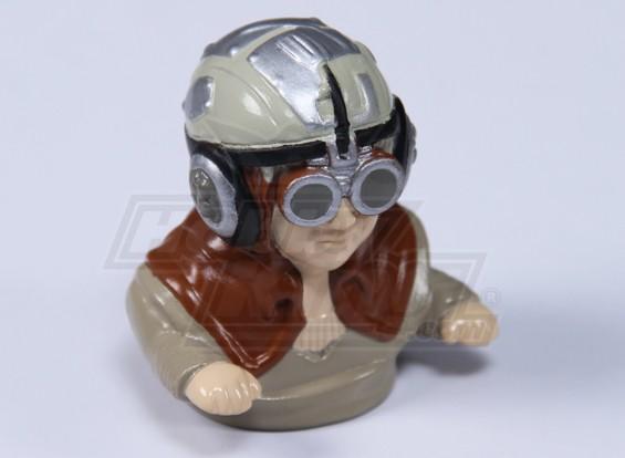 Sc-Fi Pilot figuur (H60 x W55 x D35mm)