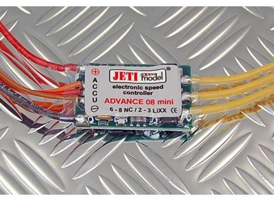 Jeti 08 Mini Speed Controller 2-3S LiPoly