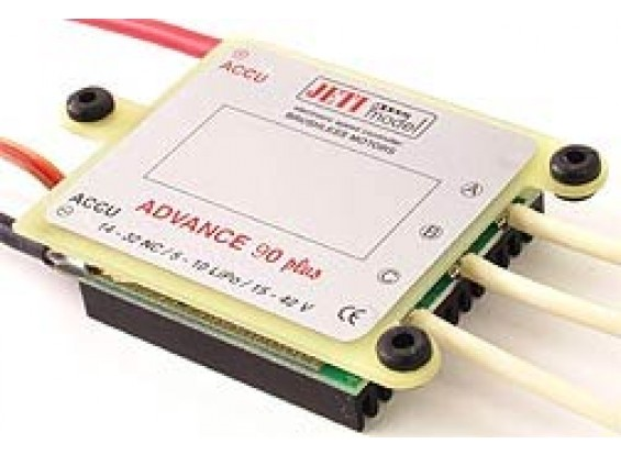 Jeti Advance PLUS 90 Amp Opto borstelloze motor