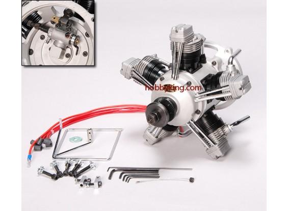 ASP FS400AR Viertakt 5 Cylinder Glow Engine