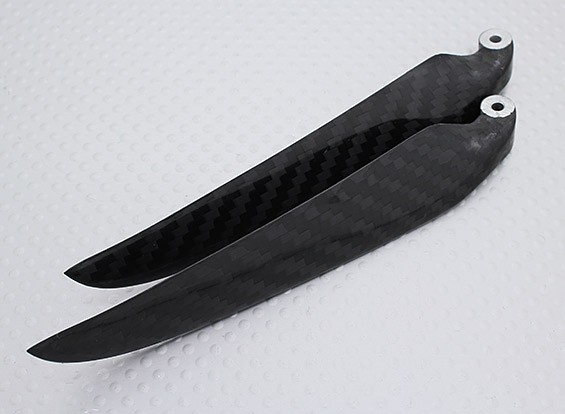 Folding Carbon Fiber Propeller 11x6 Black (CCW) (1 st)