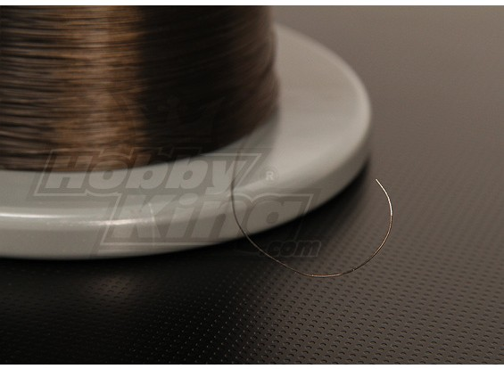 Turnigy Teflon gecoate draad 36AWG 1m (zwart)