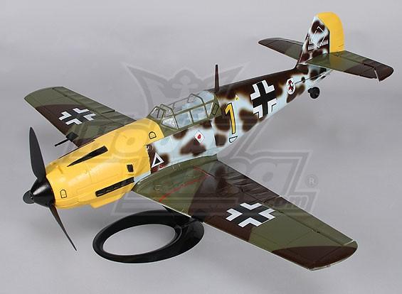 Messerschmitt BF109E w / Stand 650mm (PNF)