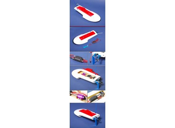 EP Mia Scale Hydroplane RC Racing Boot