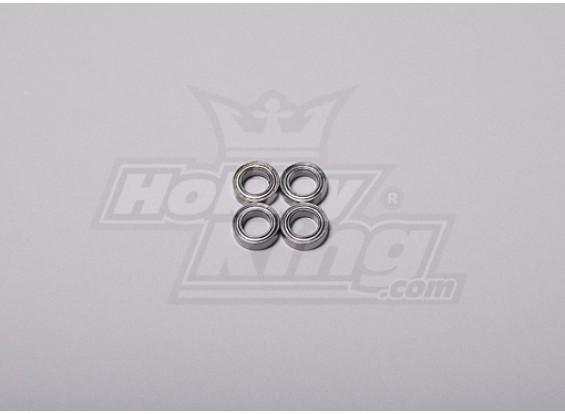 HK-500 GT Ball Bearing 10 x 6 x 3 mm (4 stuks / set)
