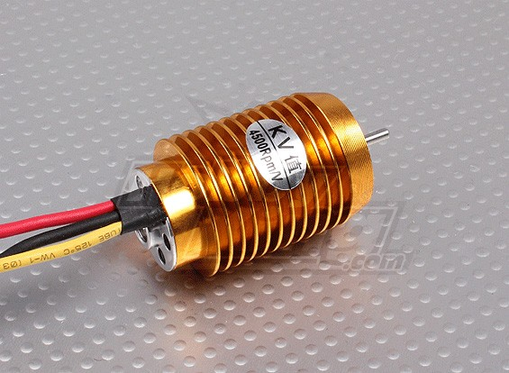 BS2040-4500kv borstelloze motor (Gold + Silver)