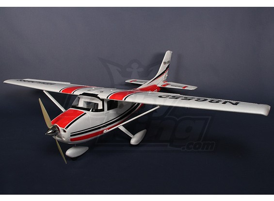 Giant 182 Light Aircraft R / C Vliegtuig EPO 73in (1.8m) Plug-n-Fly