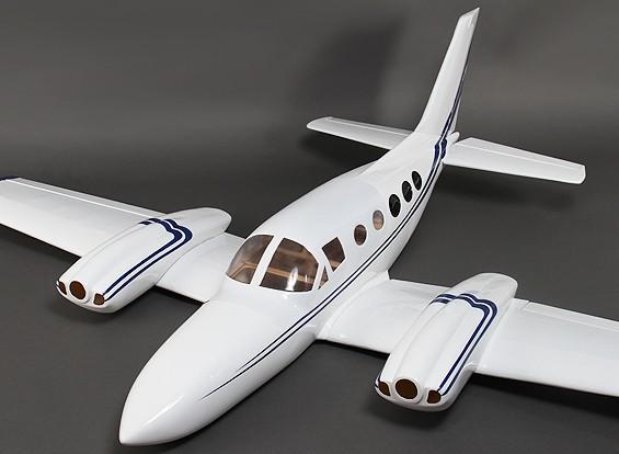 421 Composite Twin Light Aircraft 1800mm w / Kleppen (Glow - ARF)