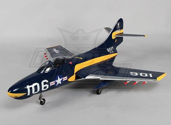 F9F-8 Cougar BOS w / Zet vrij 4s EPO (PNF)