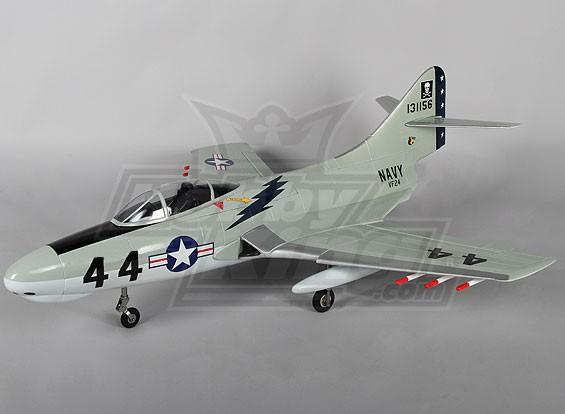 F9F-8 Cougar XSG w / Zet vrij 4s EPO (PNF)