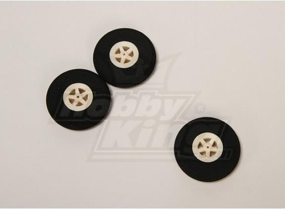 Super Light 5 Spoke Wheel D45xH10 (3pcs / bag)