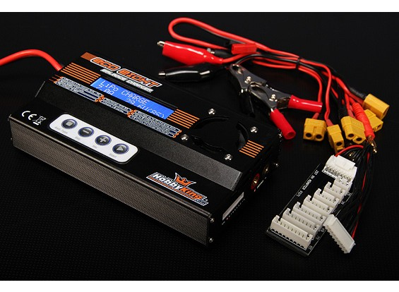 HobbyKing ™ ECO8 150W 7A 8S Bal / Dis / Cyc Charger w / accessoires