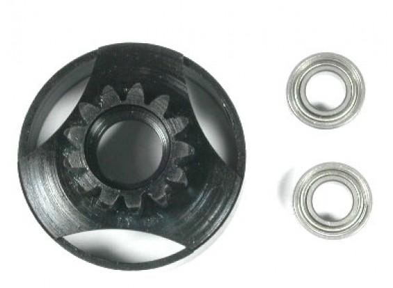 Geharde & geventileerd clutch bell w / lagers