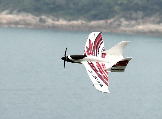 HobbyKing ™ Wingnetic Sport Speed ​​Wing EPO 805mm w / Motor (ARF)