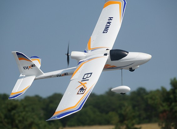 HobbyKing ™ Bix3 Trainer / FPV EPO 1550mm Mode 1 (Ready-To-Fly)
