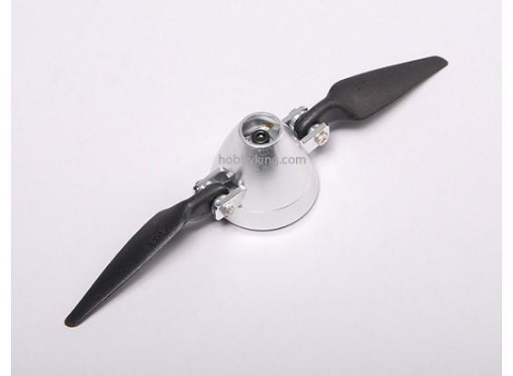 Folding Propeller 6x3 W / Alloy hub 35mm / 3.2mm as