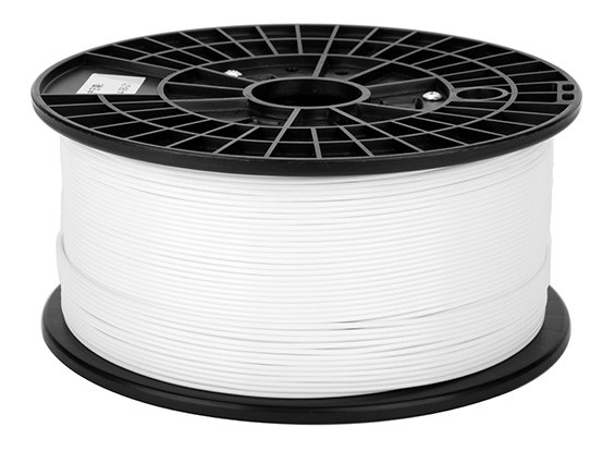 CoLiDo 3D-printer Flexibele Filament 1.75mm PLA 1KG Spool (wit)